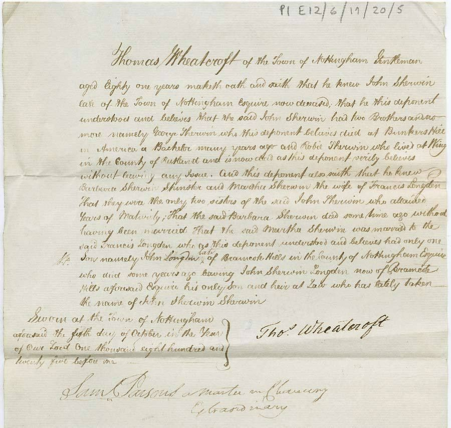 Affidavit and Statutory Declaration - The University of Nottingham