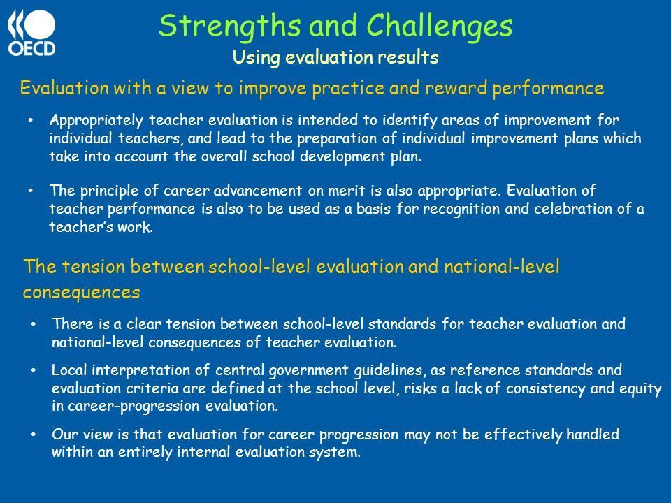 Teacher Evaluation in Portugal OECD Review - ppt download
