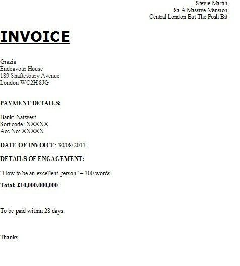 How to invoice | GoThinkBig