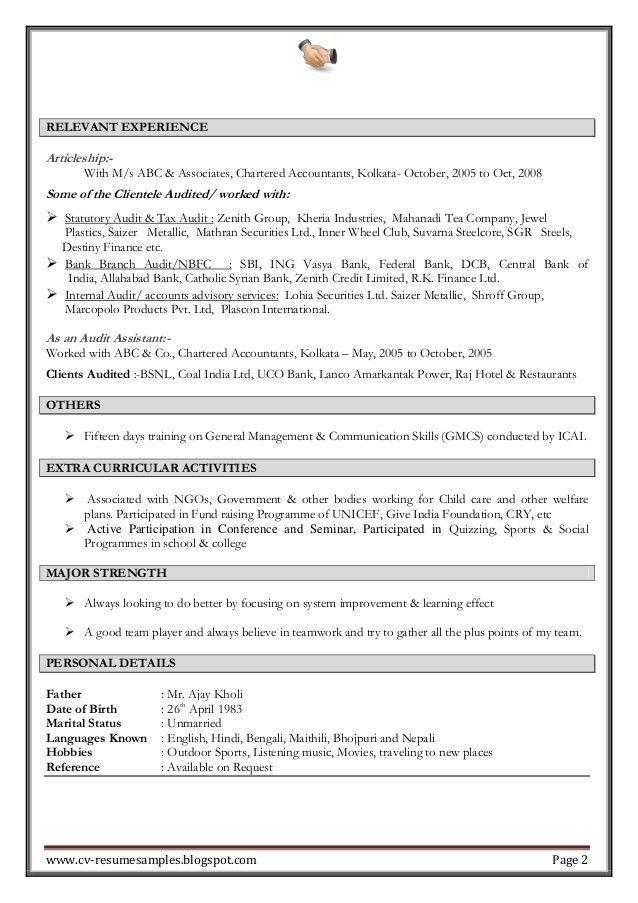 fund accountant resume