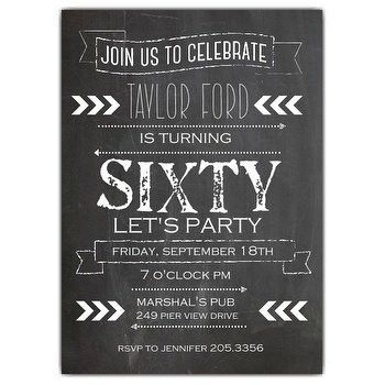 Adult Birthday Invitation wording | PaperStyle