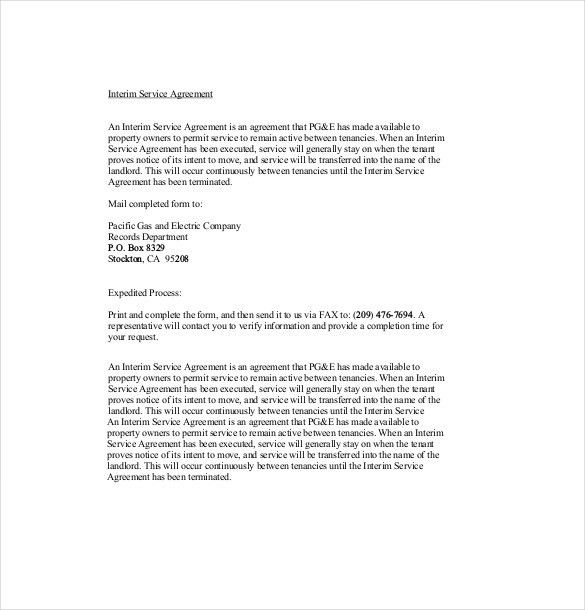 Sample Service Agreement. Sample Service Contract Agreement Form ...