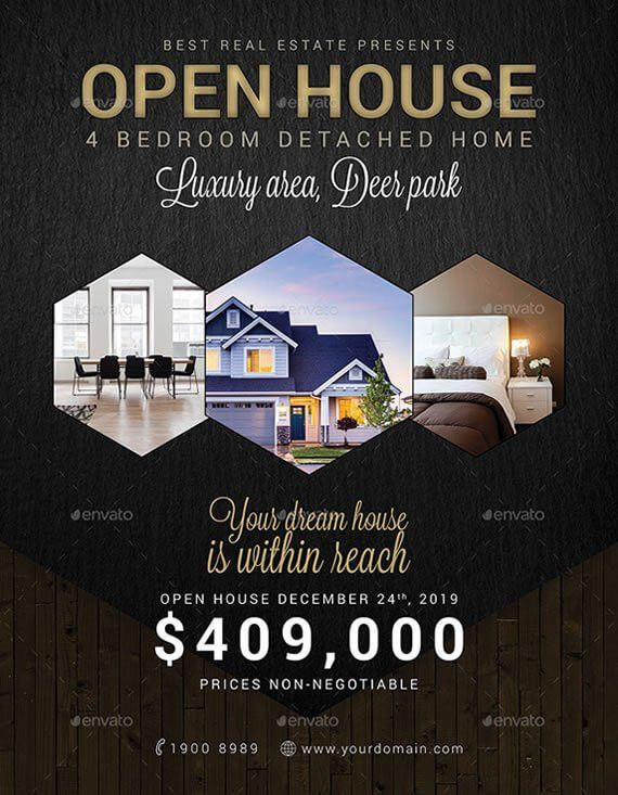 6+ Best Realtor Open House Flyers to Attract Potential Buyers