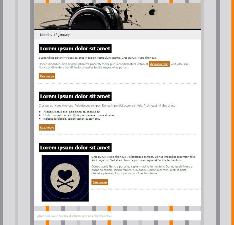 Free Email Templates | SendBlaster