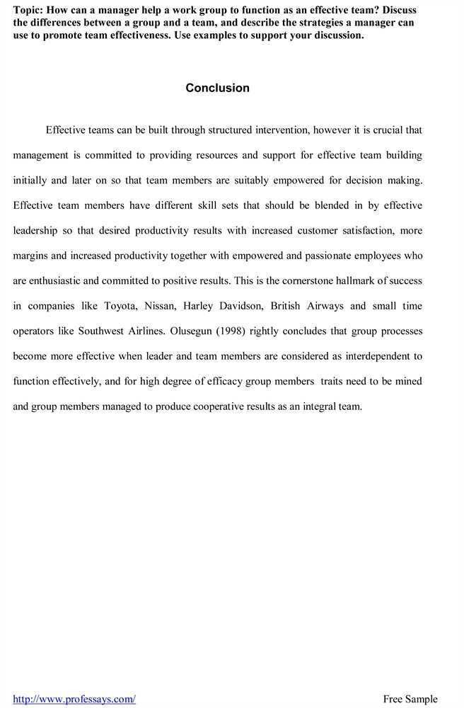 Research paper conclusion and recommendation sample