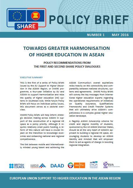 Policy Briefs | SHARE EU ASEAN