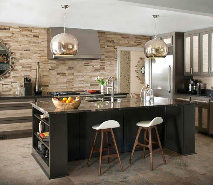 En esta oportunidad les presentamos algunos estupendos diseños de - cocinas con isla