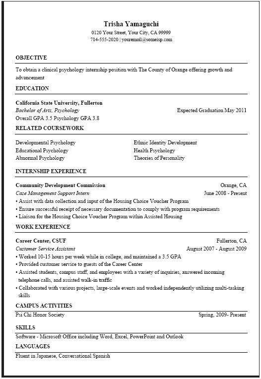 Usa Jobs Resume Sample | jennywashere.com
