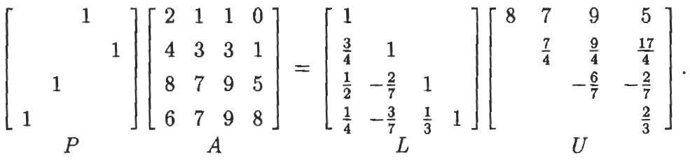 linear algebra - what are pivot numbers in LU decomposition ...