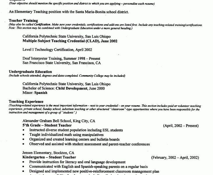resumes for teachers examples teacher resume samples writing