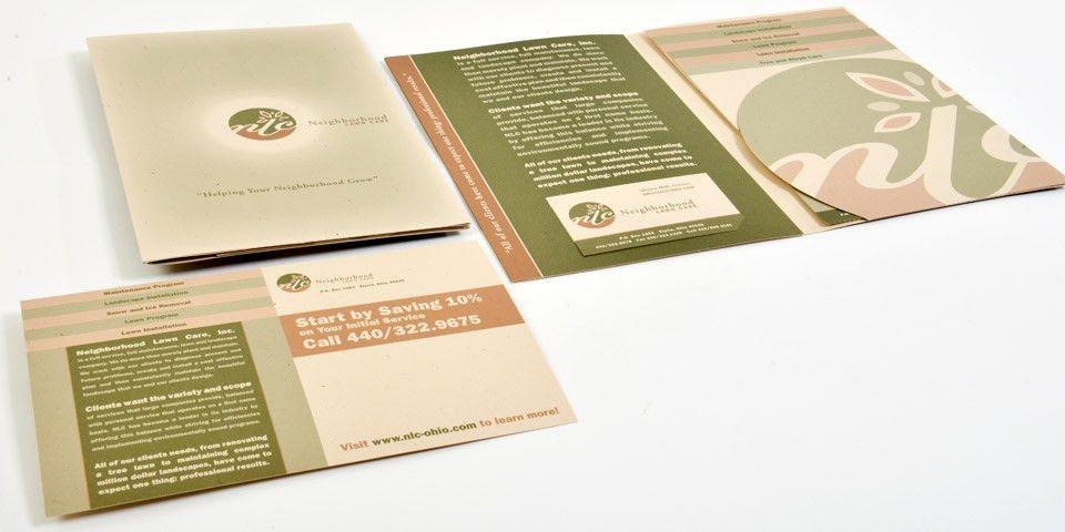 Neighborhood Lawncare Marketing Capabilities Brochure | Boom Creative