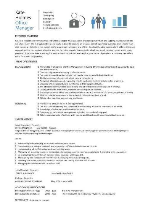 Office Manager Resume | | ingyenoltoztetosjatekok.com