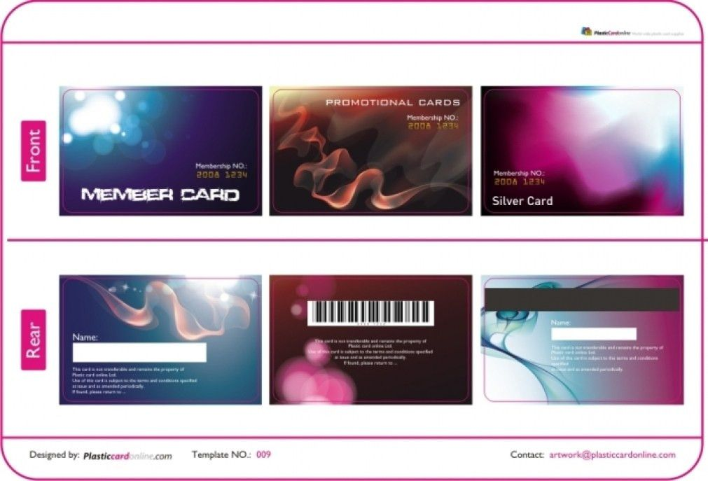 Interesting Plastic Card Template DF5D3 – Dayanayfreddy