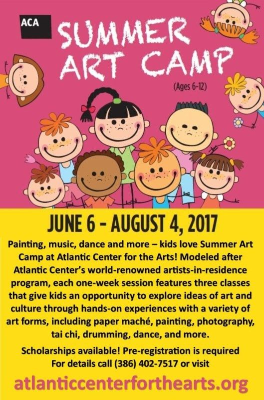 Summer Art Camp | Atlantic Center for the Arts