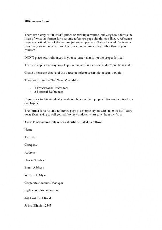 references on resume example example references resume resume ...