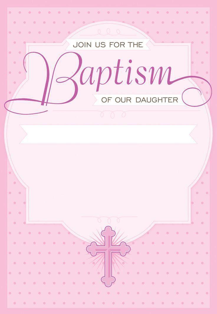 baptism invitation : Baptism invitations free templates - Baptism ...
