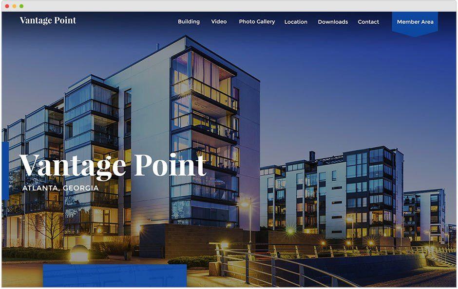 Commercial Real Estate Website Design | SharpLaunch