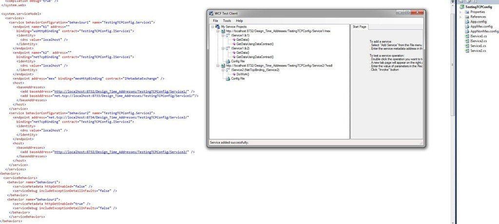 Exposing WCF Service Metadata — a Configuration example. | Simple ...