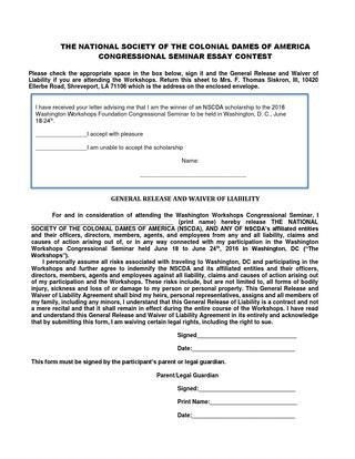 2016-essay-waiver-of-liability-form-for-congressional-seminar ...