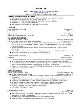 volunteer resume samples delectable sample resume for experienced