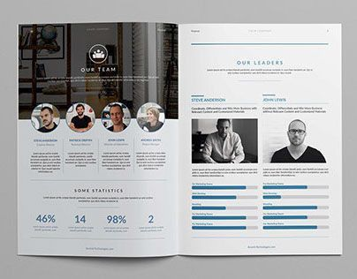 A Creative & Clean Proposal 24 pages for multi-purpose use, hi ...