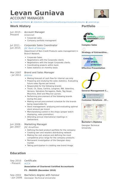 Sales Coordinator Resume samples - VisualCV resume samples database