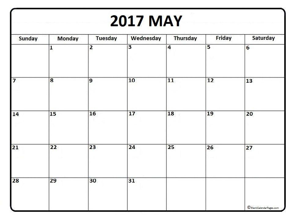 Sample Blank Calendar. Calendar Template Monday Through Friday ...