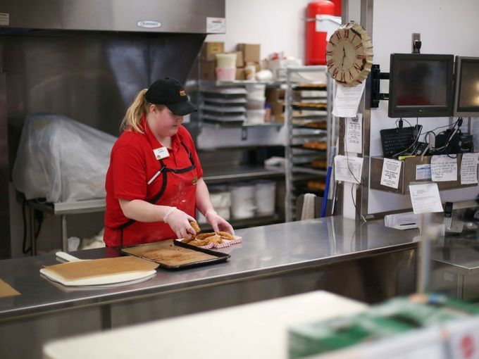 Photos: Inside Casey's Pizza kitchen