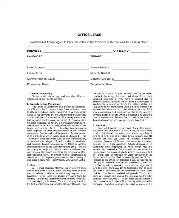 Lease Termination Template - 5+ Free Word, PDF Documents Download ...