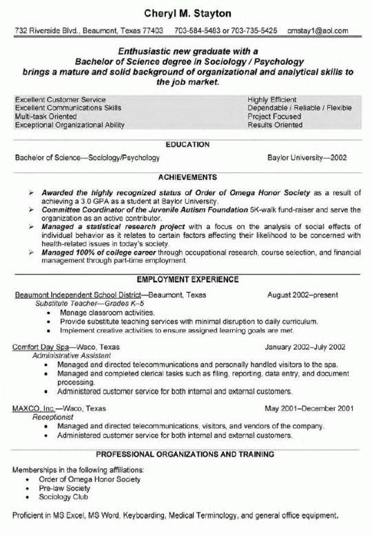 Teacher resume | Free Resumes Tips