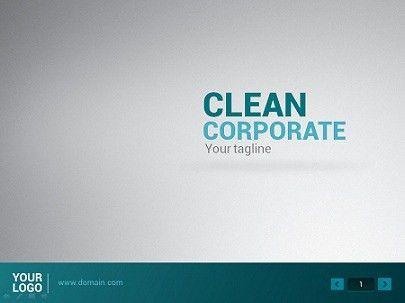 Clean Powerpoint Presentation   PowerPoint Templates