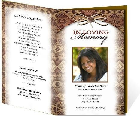 15+ Free Obituary templates, Samples & Examples | Printable ...