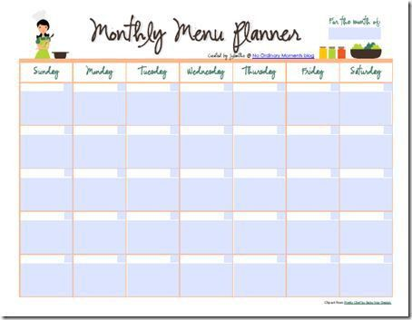 118 best Meal Planning/ Grocery List Printables images on ...
