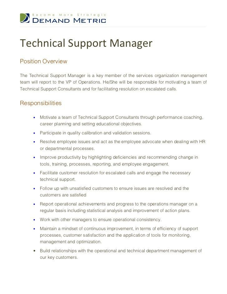 application support manager job description top 8 application