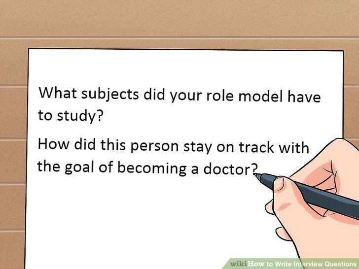 3 Ways to Write Interview Questions - wikiHow