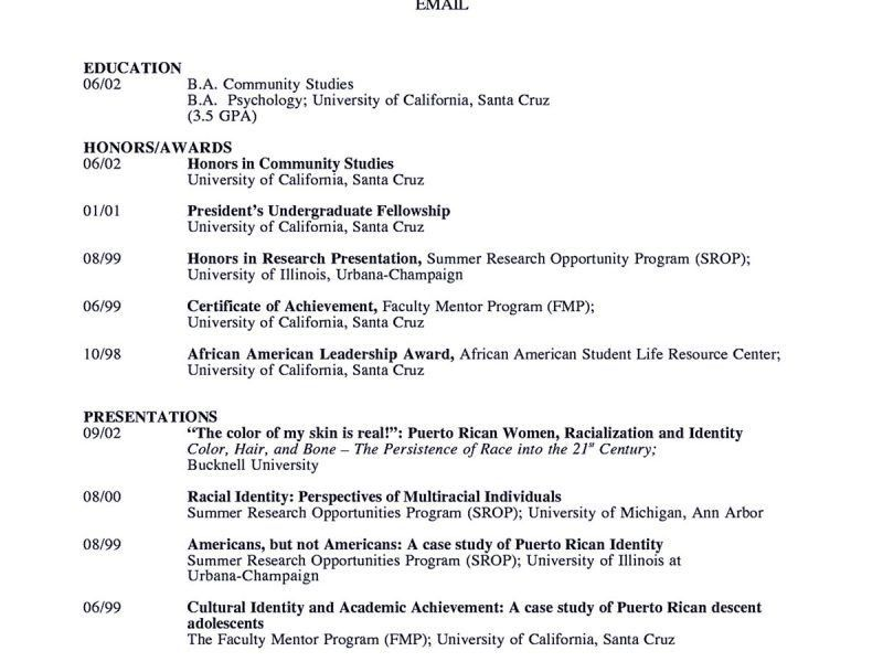awesome academic resume template 4 resume sample shows you how to