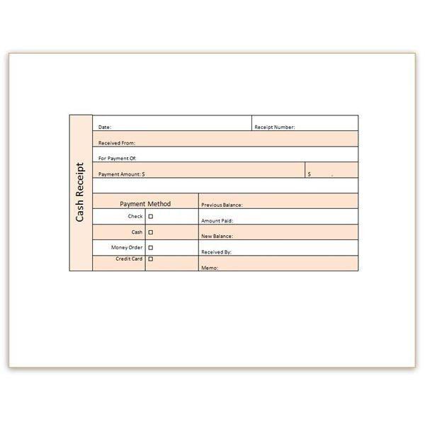 Receipt Template Word | peerpex