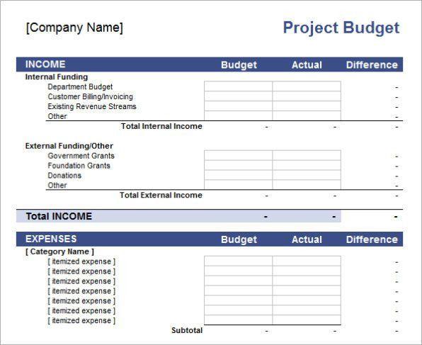 Free Budget Template Excel | Calendar Template Letter Format ...