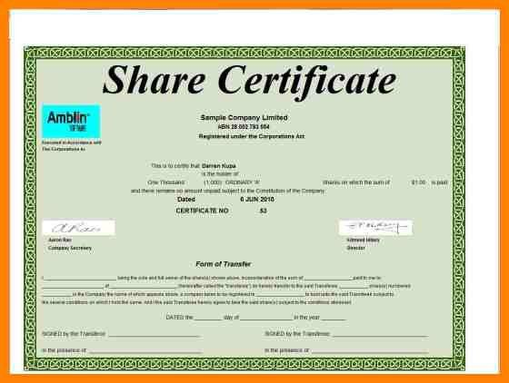 ms word certificate templates free download