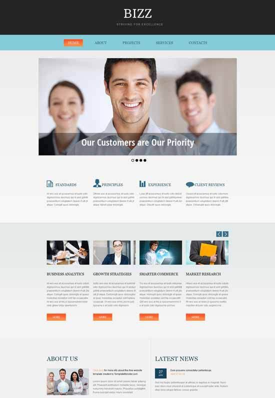 70+ Best Business Consulting Website Templates Free & Premium ...