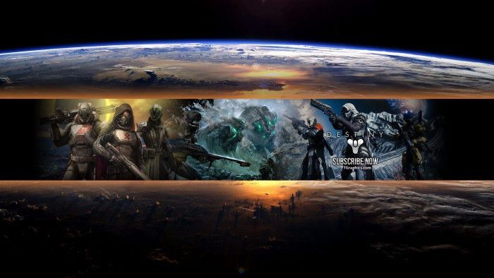 Destiny - YouTube Channel Art Banners