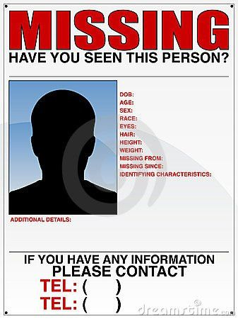 10 Missing Person Poster Templates - Excel PDF Formats