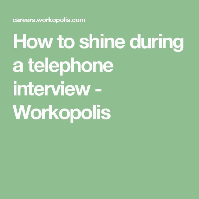 Best 25+ Telephone interview questions ideas on Pinterest ...