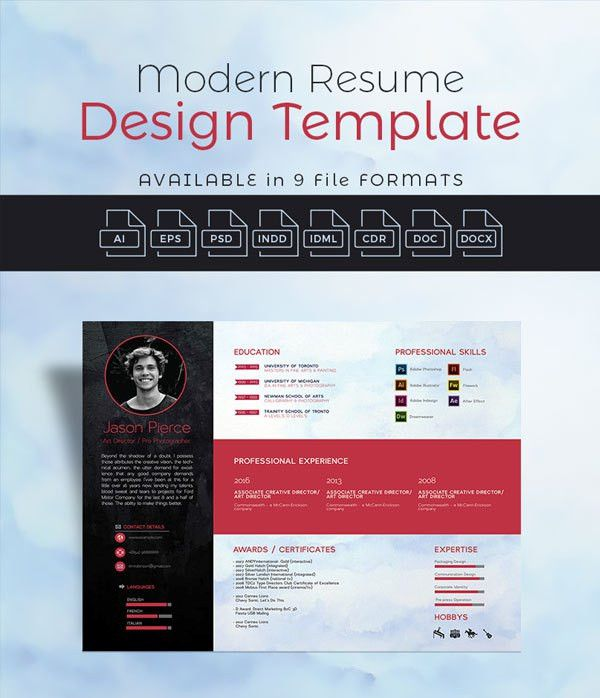 10+ Newest Free & Premium Resume Templates For Graphic & Web Designers