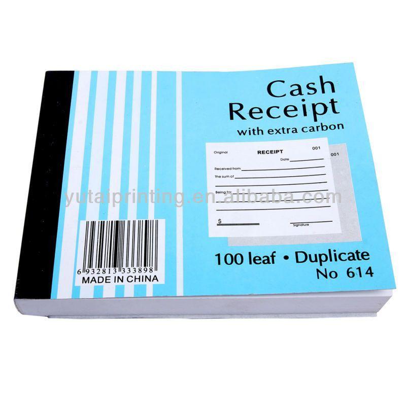2014 Professionnal Sample Receipt Book Online Bulk Order - Buy ...