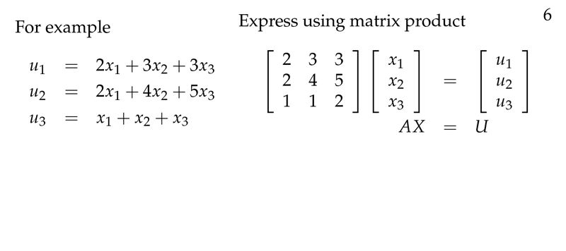Session 9: Matrix Multiplication | Part B: Matrices and Systems of ...