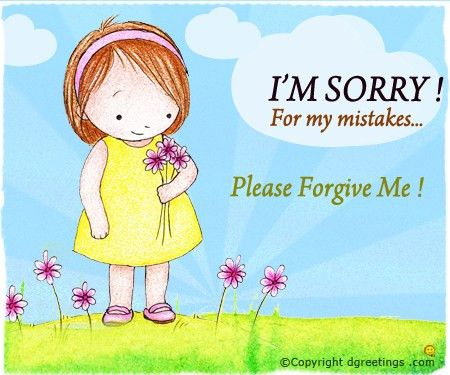 General Sorry Card 1 | Sorry Card | Pinterest