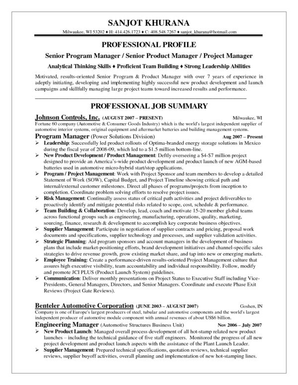Outstanding Resume Example with Working Experience and Summary of ...