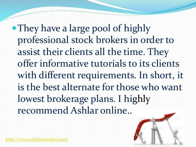 Ashlar online is one of the leading stock brokerage firms in india