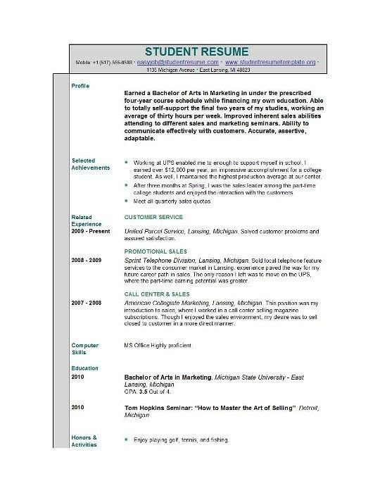 Resume While In College. how to boost your resume while in college ...
